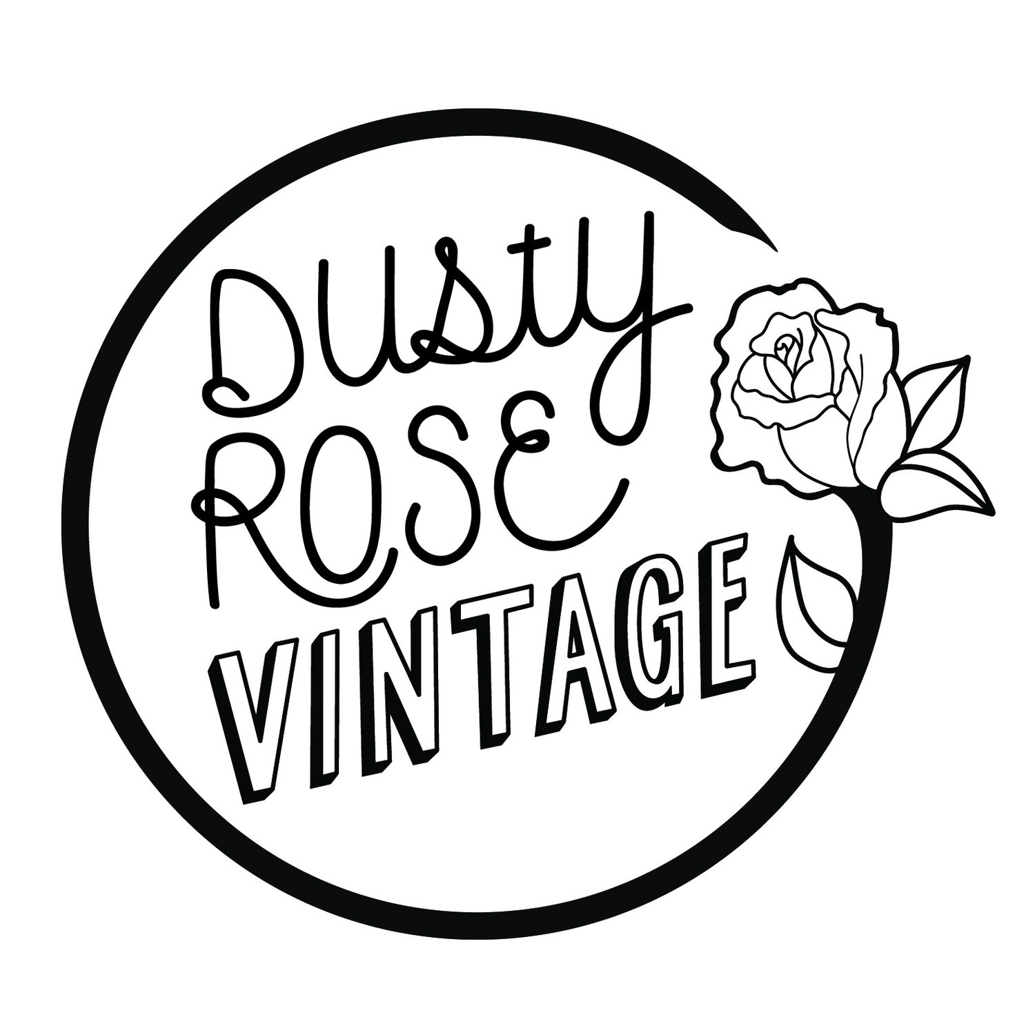 Dusty Rose Vintage