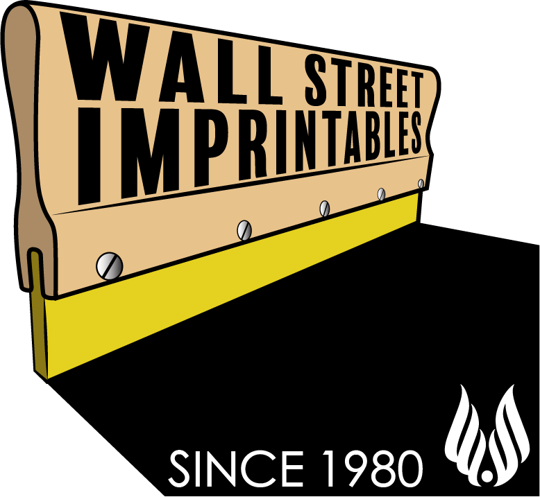 WALL STREET IMPRINTABLES