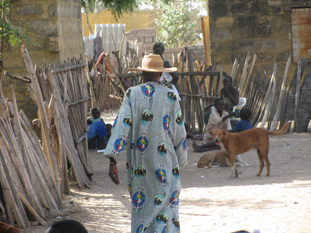 Village of Jiloor in Senegal, West Africa.