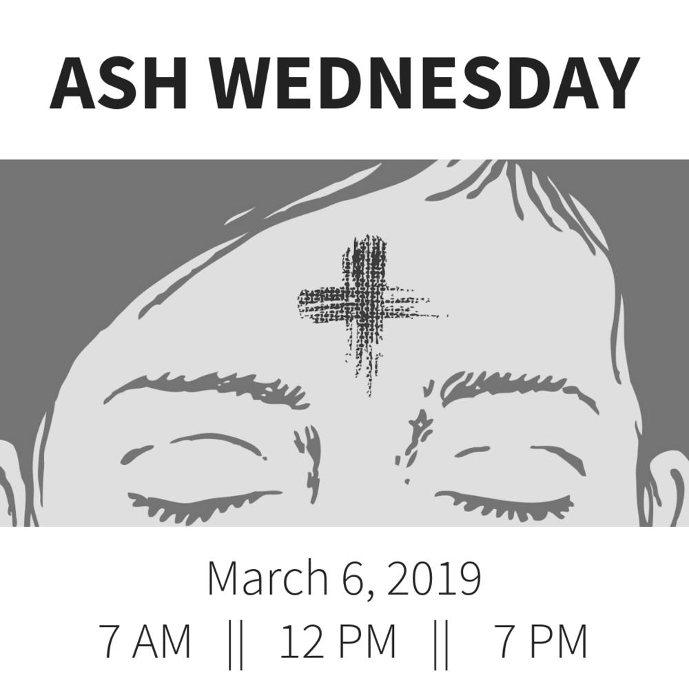 Ash Wednesday, Year C