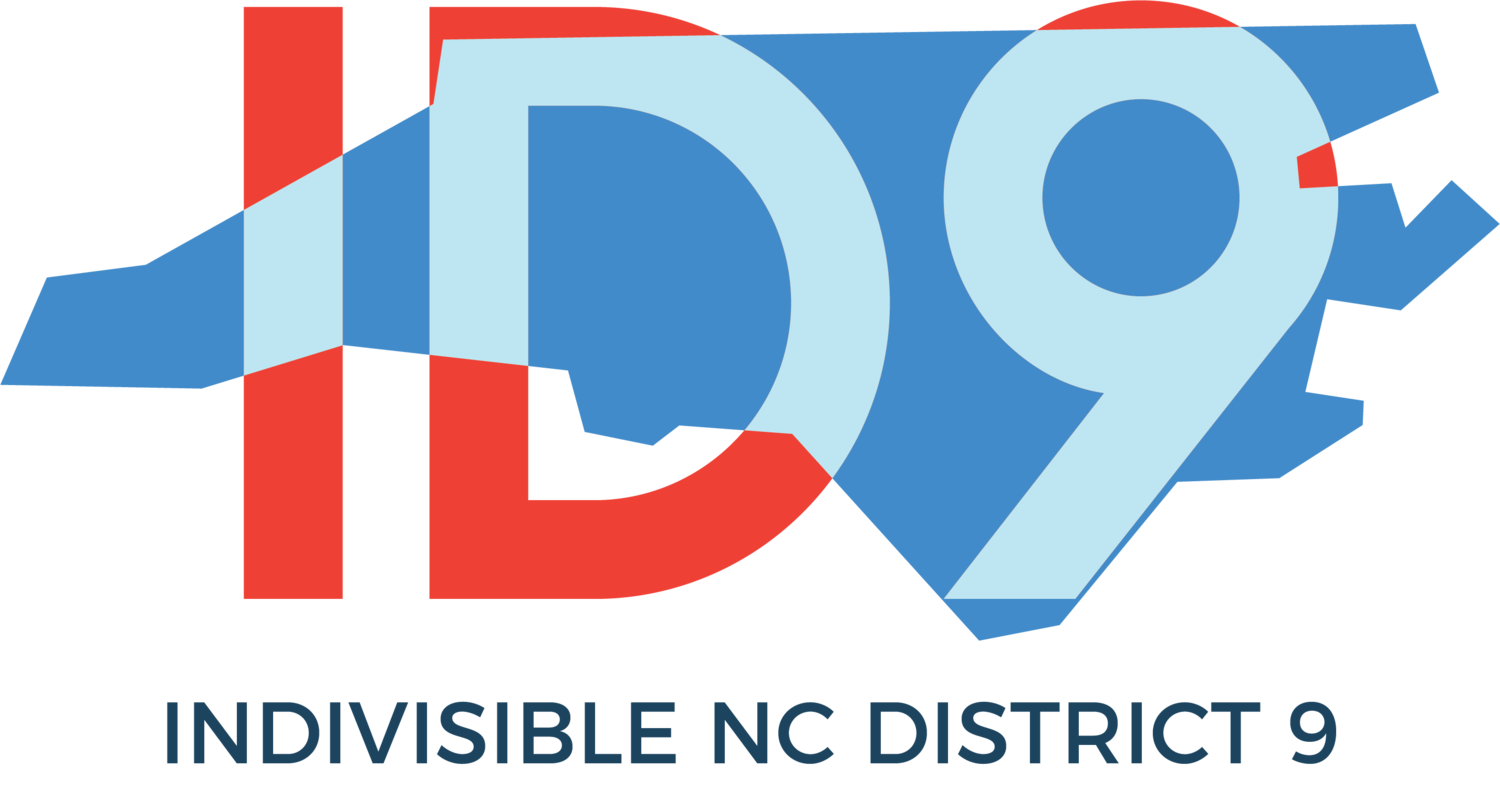 Indivisible NC District 9