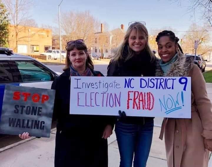 ID 9 speaking out to investigate NC District 9 Election Fraud.