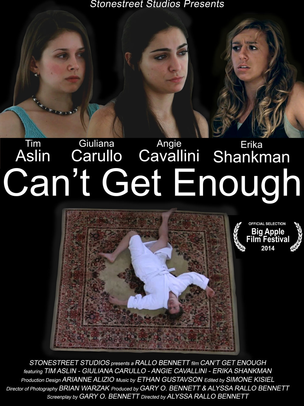 Can't Get Enough - A husband is obsessed and paranoid about his wife. The problem is there's someone even more obsessed.WATCH TRAILER HERE    -    IMDb