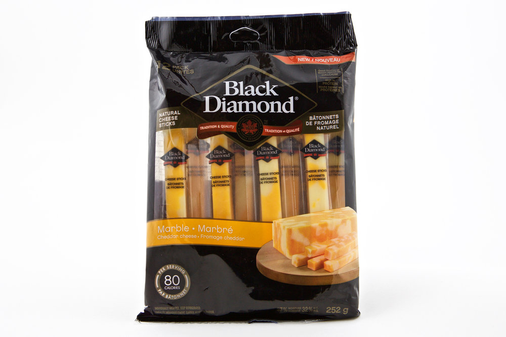 Black Diamond Natural Cheese Sticks – Marble