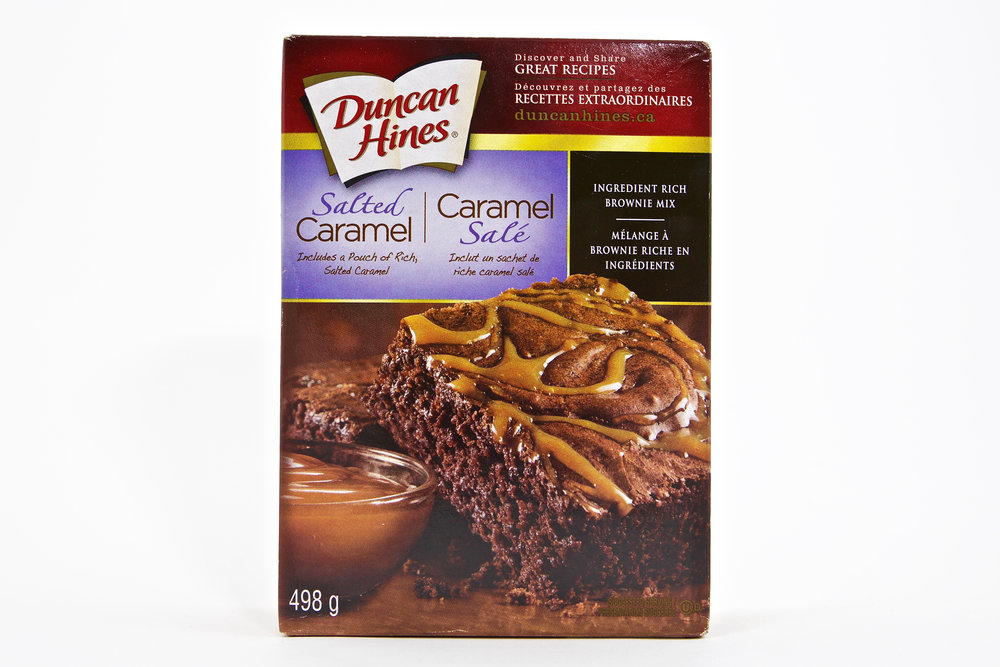 Duncan Hines Salted Caramel Brownie Mix