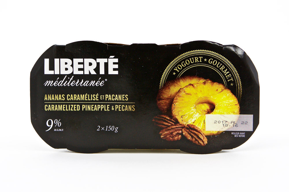 Liberté Caramelized Pineapple & Pecans