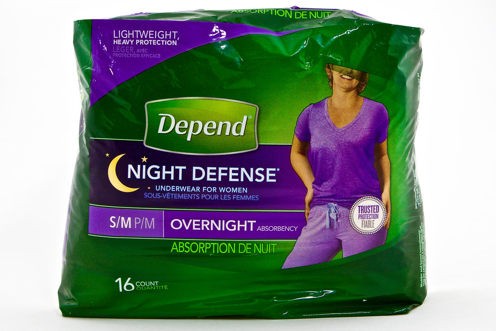 Depend Night Defense Underwear for Women