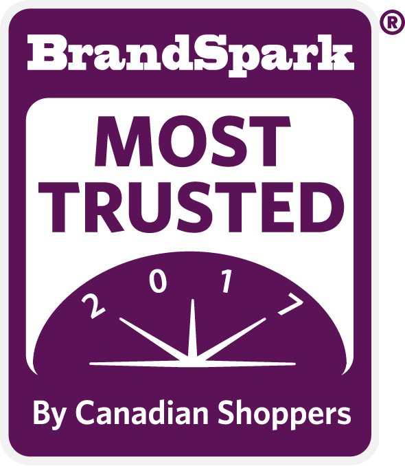 2017 BrandSpark Most Trusted Awards - More than 20,000 respondents, reflecting the profile of the Canadian Household Shopper, determined the 2017 BrandSpark Most Trusted Awards winners through their top of mind responses for 115 categories in which they purchase.The BrandSpark Most Trusted Awards winners were ranked based on the greatest volume of mentions, and when the difference between brands was not statistically significant, ties were declared.