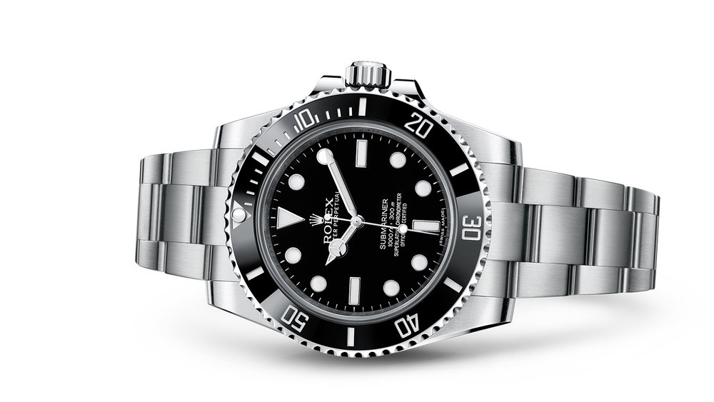"""SUBMARINER<br><span class=""""watch-des"""">Oyster, 40 mm, Oystersteel</span>"""