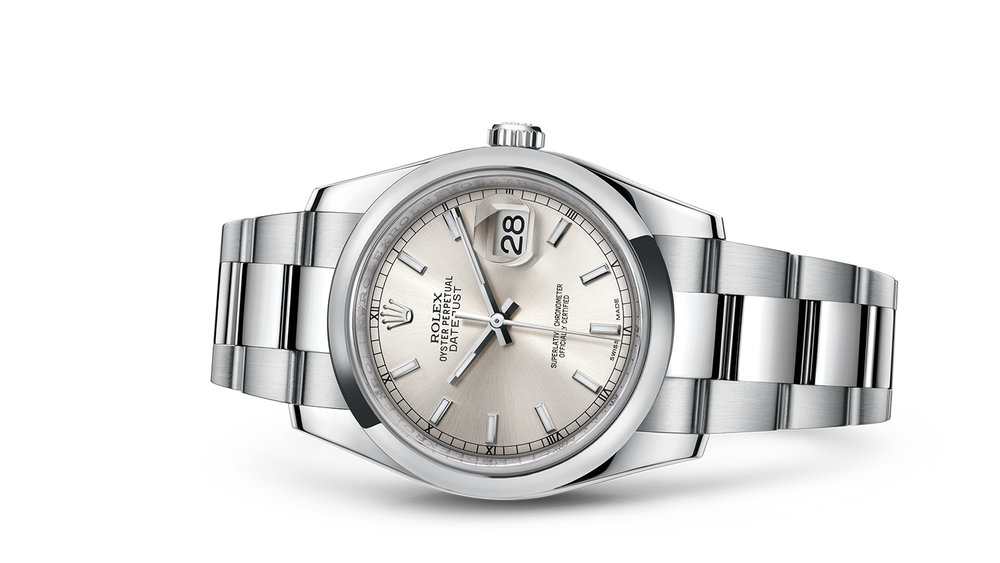 """DATEJUST 36<br><span class=""""watch-des"""">Oyster, 36 mm, Oystersteel</span>"""