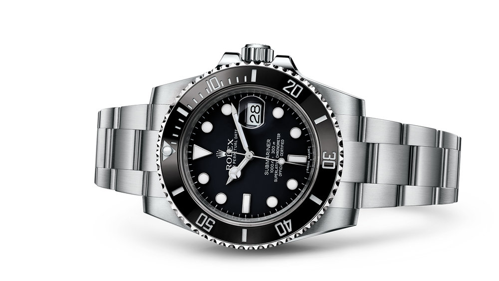 "SUBMARINER DATE<br><span class=""watch-des"">Oyster, 40 mm, Oystersteel</span>"
