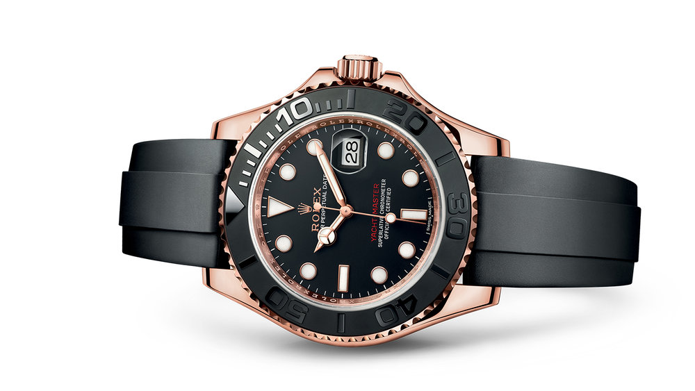 """YACHT-MASTER 40<br><span class=""""watch-des"""">Oyster, 40 mm, Everose gold</span>"""
