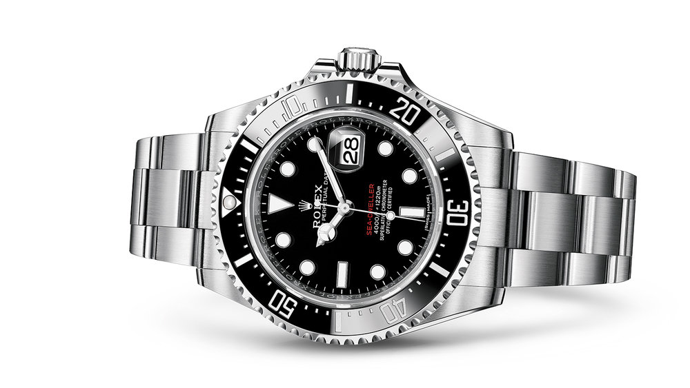 "SEA-DWELLER<br><span class=""watch-des"">Oyster, 43 mm, Oystersteel</span>"