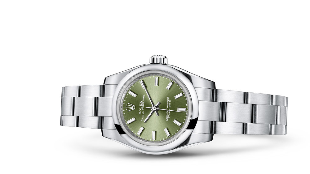 """OYSTER PERPETUAL 26<br><span class=""""watch-des"""">Oyster, 26 mm, Oystersteel</span>"""