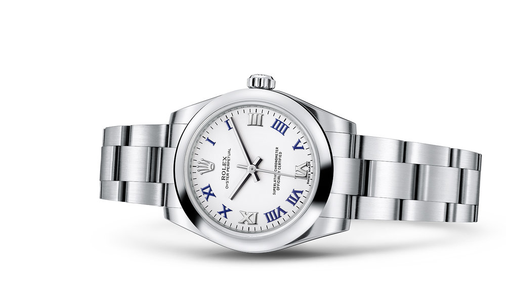 """OYSTER PERPETUAL 31<br><span class=""""watch-des"""">Oyster, 31 mm, Oystersteel</span>"""