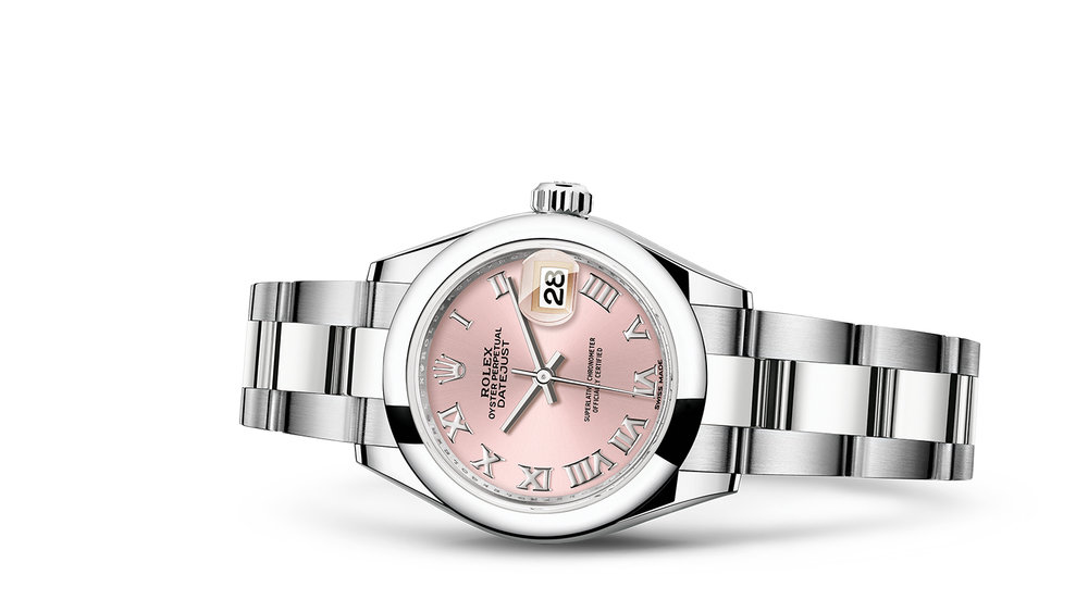 """LADY-DATEJUST<br><span class=""""watch-des"""">Oyster, 28 mm, Oystersteel</span>"""
