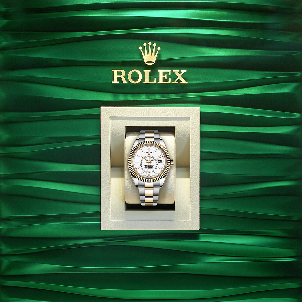 Rolex Sky-Dweller In A Box