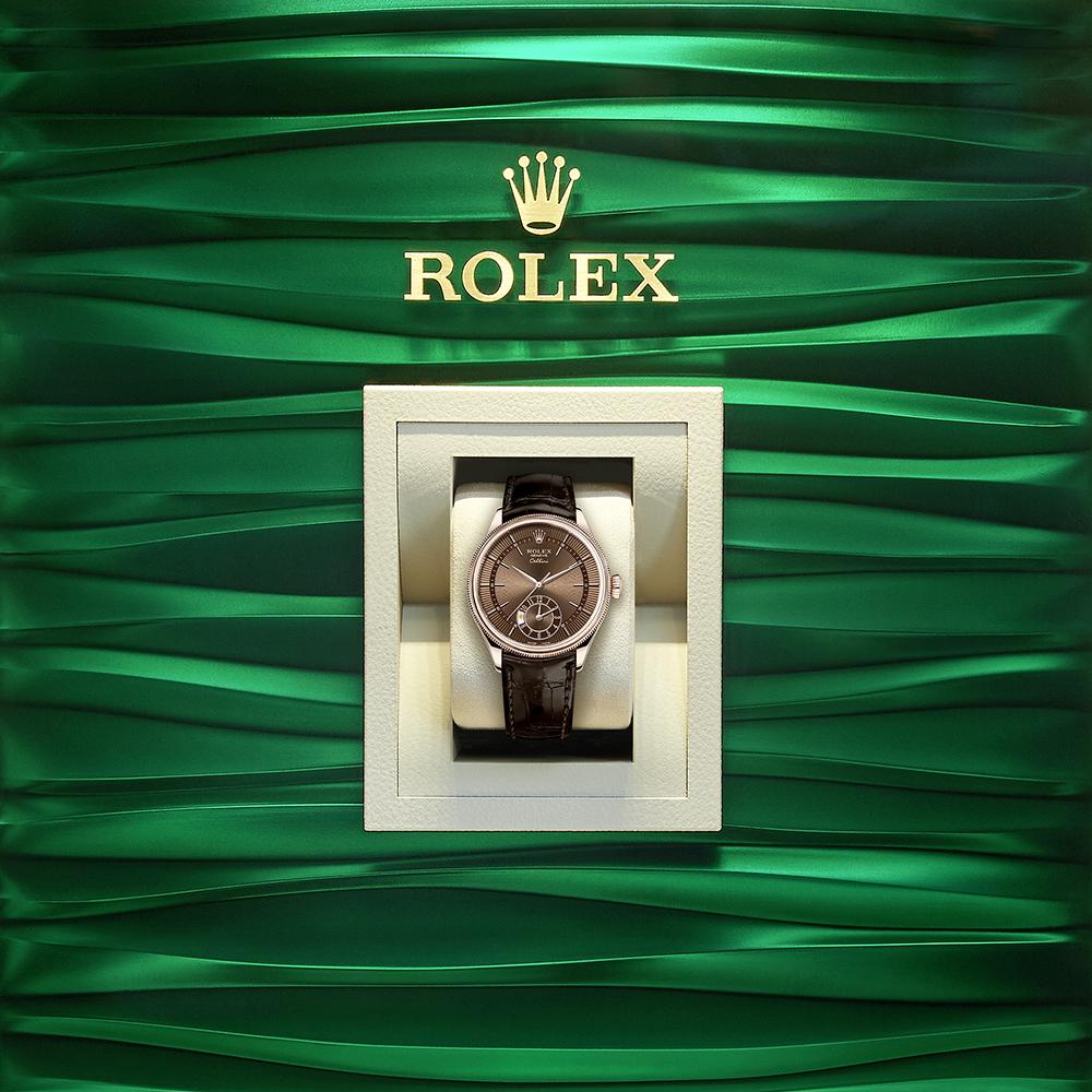 Rolex Cellini Dual Time In A Box