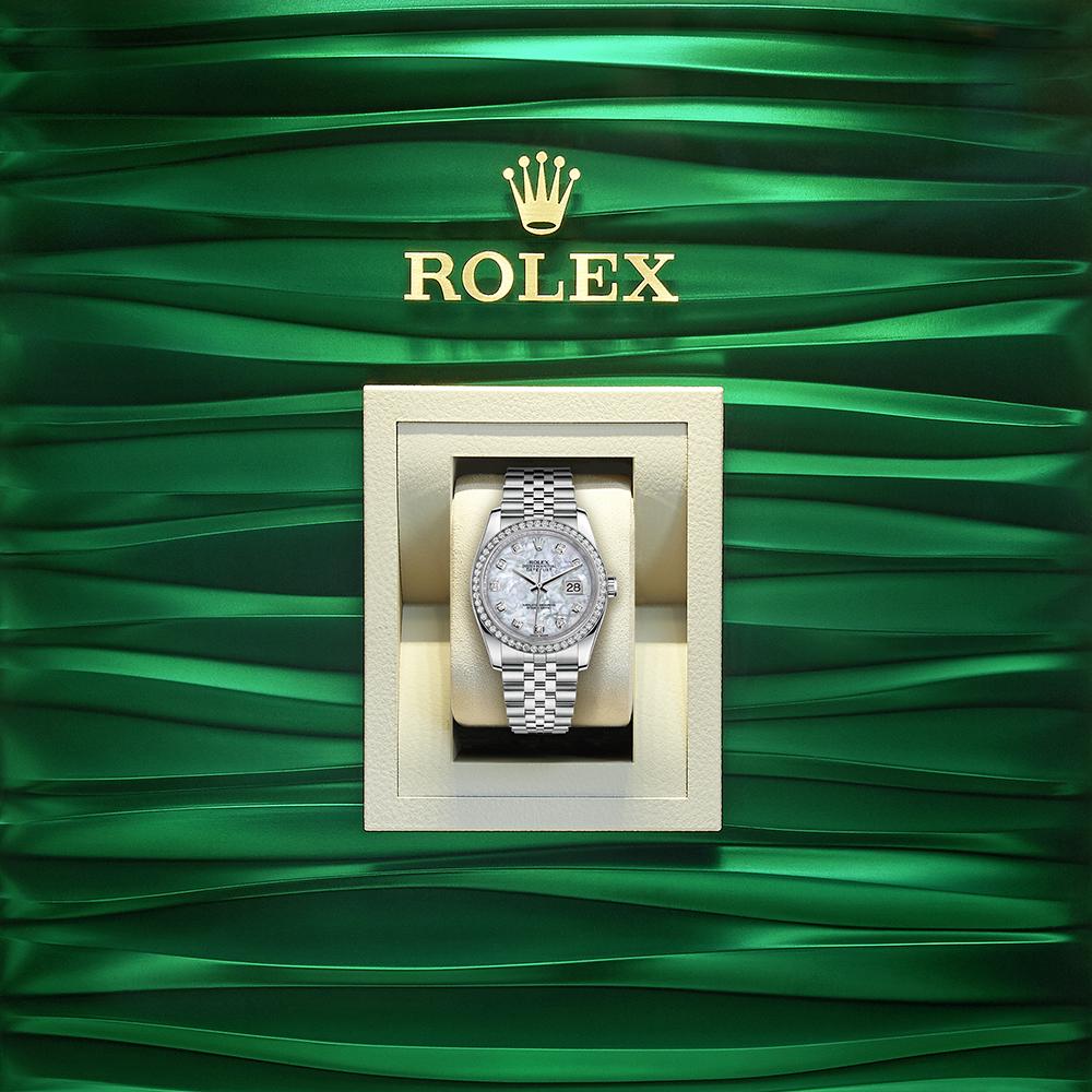 Rolex Datejust In A Box