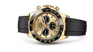 "COSMOGRAPH DAYTONA<br><span class=""watch-des"">Oyster, 40 mm, yellow gold</span>"