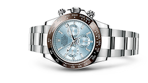 "COSMOGRAPH DAYTONA<br><span class=""watch-des"">Oyster, 40 mm, platinum</span>"