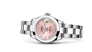 "LADY-DATEJUST 28<br><span class=""watch-des"">Oyster, 28 mm, Oystersteel</span>"