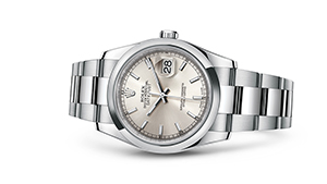 "DATEJUST 36<br><span class=""watch-des"">Oyster, 36 mm, Oystersteel</span>"