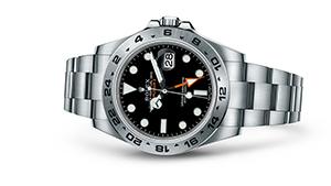 "EXPLORER II<br><span class=""watch-des"">Oyster, 42 mm, Oystersteel</span>"