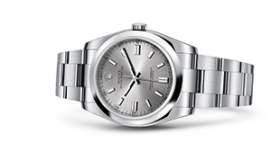 "OYSTER PERPETUAL 36<br><span class=""watch-des"">Oyster, 36 mm, Oystersteel</span>"
