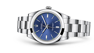 "OYSTER PERPETUAL 39<br><span class=""watch-des"">Oyster, 39 mm, Oystersteel</span>"