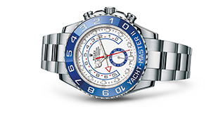 "YACHT-MASTER II<br><span class=""watch-des"">Oyster, 44 mm, Oystersteel</span>"