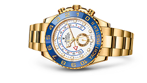 "YACHT-MASTER II<br><span class=""watch-des"">Oyster, 44 mm, yellow gold</span>"