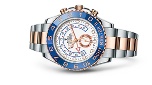 "YACHT-MASTER II<br><span class=""watch-des"">Oyster, 44 mm, Oystersteel and Everose gold</span>"