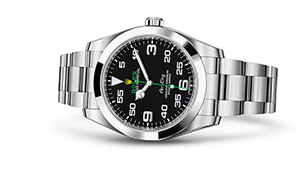 "AIR-KING<br><span class=""watch-des"">Oyster, 40 mm, Oystersteel</span>"