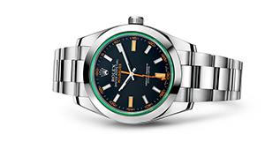 "MILGAUSS<br><span class=""watch-des"">Oyster, 40 mm, Oystersteel</span>"