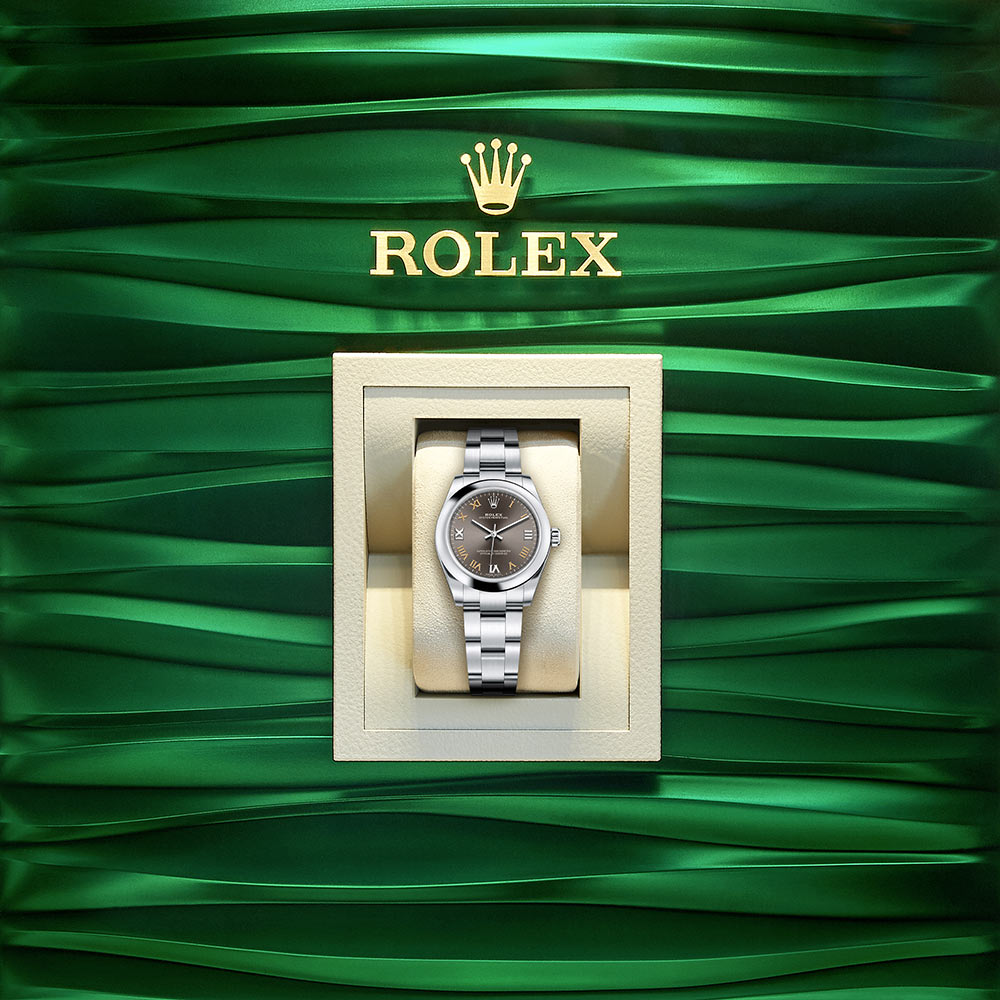 Rolex Oyster Perpetual In A Box