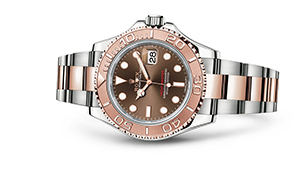"""YACHT-MASTER 40<br><span class=""""watch-des"""">Oyster, 40 mm, Oystersteel and Everose gold</span>"""