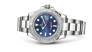 "YACHT-MASTER 40<br><span class=""watch-des"">Oyster, 40 mm, Oystersteel and platinum</span>"