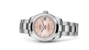 """DATEJUST 31<br><span class=""""watch-des"""">Oyster, 31 mm, Oystersteel</span>"""