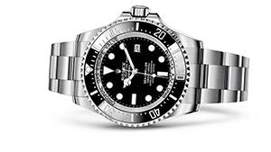 "ROLEX DEEPSEA<br><span class=""watch-des"">Oyster, 44 mm, Oystersteel</span>"