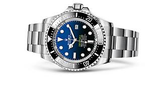 "ROLEX DEEPSEA D-BLUE DIAL<br><span class=""watch-des"">Oyster, 44 mm, Oystersteel</span>"