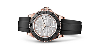 "YACHT-MASTER 37<br><span class=""watch-des"">Oyster, 37 mm, Everose gold</span>"