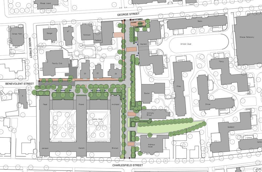 brown south campus master plan