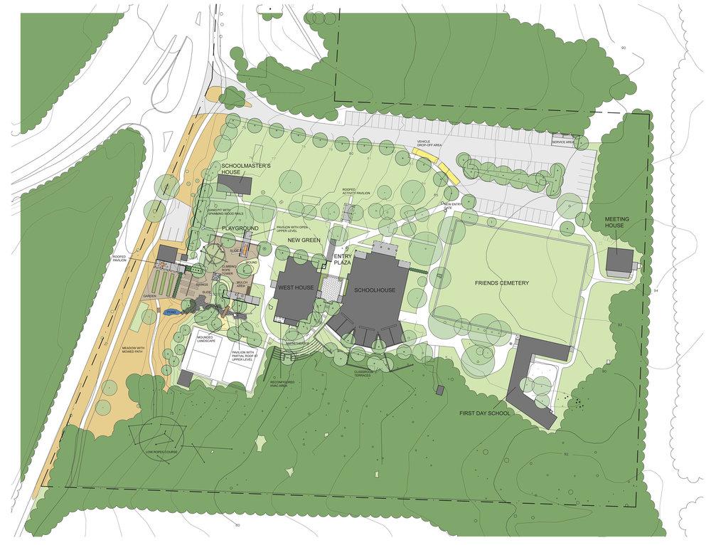 Princeton Friends School Masterplan