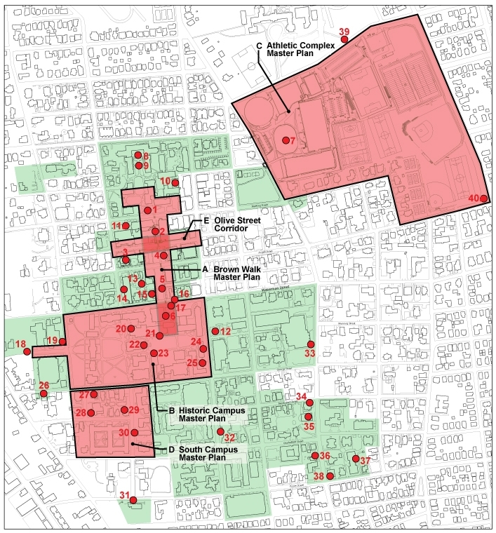 brown university campus plan