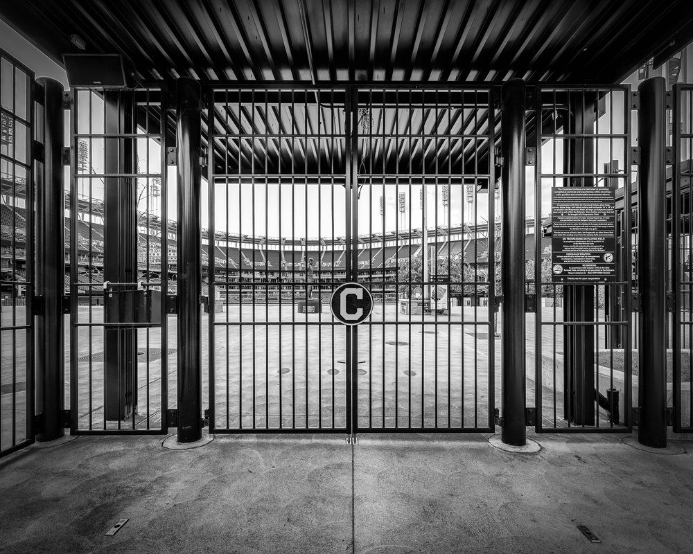 Progressive Field Gate