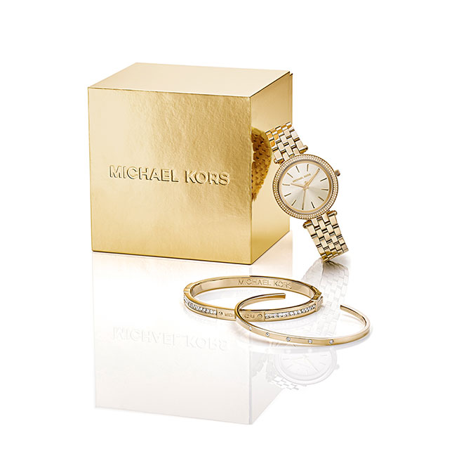 MK Jewelry and Watch box set for WSIO