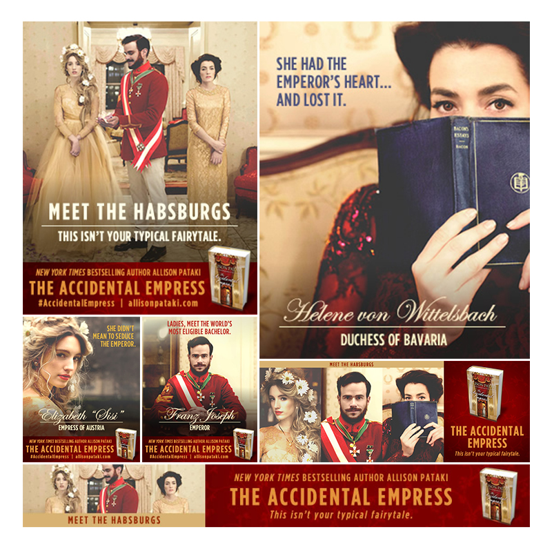 The Accidental Empress Book Launch