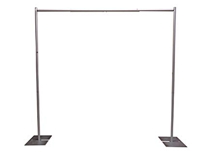 Pipe and Drape - $75   7' H x 7-12' W