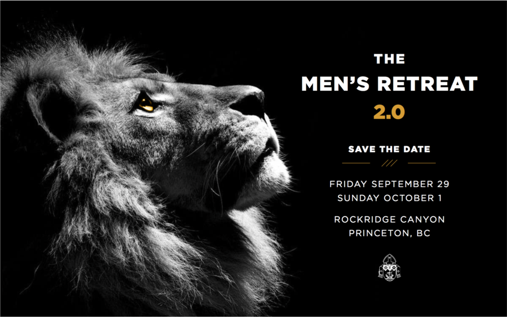 Men's Retreat  Join us for our annual men's retreat, that will be held at Rockridge Canyon for men 18 and up. Sign up for details about this amazing retreat. http://rcav.org/mensretreat/